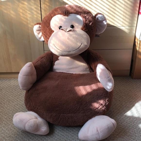 Other Jumbo Monkey Plush Seat Poshmark